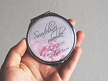 Zrkadielka - Zrkadielko svadobnej mamke - 7005812_