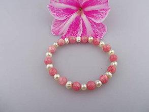 Náramky - perly jadeit náramok - 7006392_
