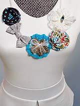 Tyrkysový egypstký elegantný náhrdelník - Emerald