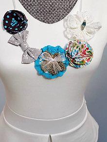 Náhrdelníky - Tyrkysový egypstký elegantný náhrdelník - Emerald - 7006553_