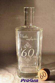 Iné - James - gravírovaná darčeková fľaša - 7005192_