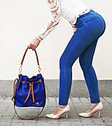 - Kožená kabelka Nina