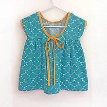 """Detské oblečenie - Low Back šaty krátke """" Ariel """" - 7004089_"""