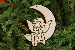 Dekorácie - Drevené vianočne ozdoby 23 - 7005945_