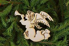 Drevené vianočne ozdoby z preglejky 5