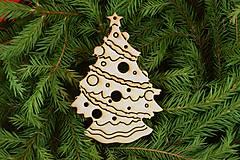 Drevene vianočne ozdoby z preglejky18