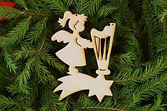 Drevene vianočne ozdoby 20