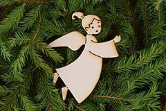 Drevene vianočne ozdoby
