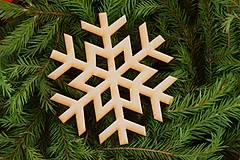 Dekorácie - Drevene vianočne ozdoby  10 - 7006013_