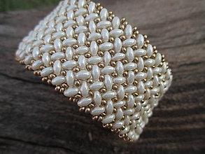 Náramky - náramok z ivory duo korálok - 7008441_