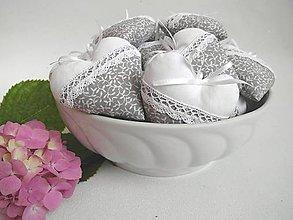 Darčeky pre svadobčanov - Misa plná srdiečok - 7007019_