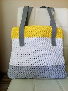 Kabelky - Pruhovaná taška - kabelka - 7008155_