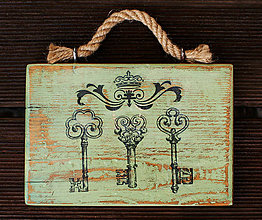 Tabuľky - Tabuľka klúče - 7007253_
