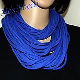 - Kráľovsky modré špagetky - nákrčník - 7008937_