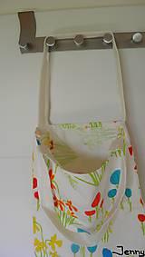 Veľké tašky - Jemná kvietkovaná taška - 7010886_