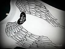 Tričká - Anjelské krídla - 7010963_