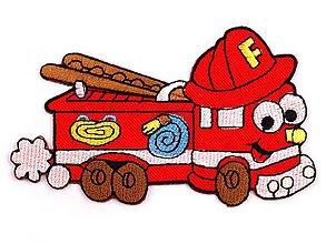 Galantéria - Nažehľovačka požiarnicke auto - 7008972_