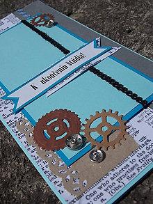 Papiernictvo - ...pohľadnica promočná s kolieskami... - 7010704_