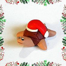 Hračky - Čokoládové želvičky skladom (vianočná) - 7009983_