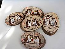 - Hnedé sovičky-magnetky - 7013365_
