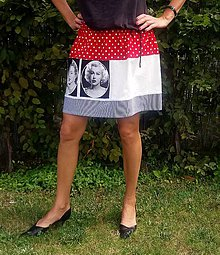 Sukne - Sukně Marilyn Monroe - poslední kus - 7012622_