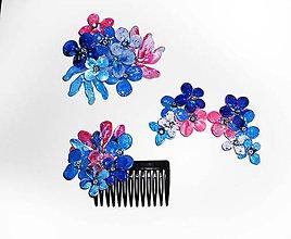 Sady šperkov - masked flowers set - 7011421_