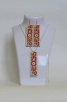 Sady šperkov - Na dreve maľované • sada - 7012216_