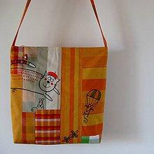 Veľké tašky - PARAGÁNSKÁ - taška plážová - 7013286_