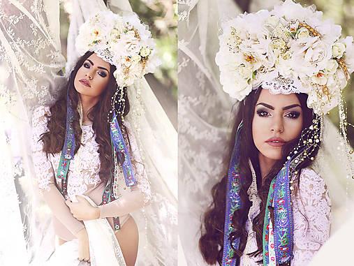 """Kvetinová parta """"bohyňa nežných prianí"""""""