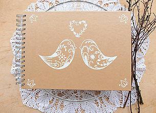 Papiernictvo - Kniha hostí vtáčatá - 7013120_
