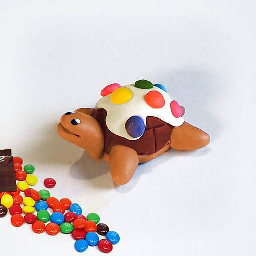 Čokoládové želvičky skladom (lentilková)