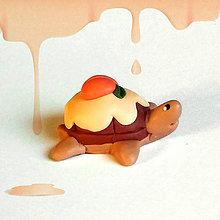 Hračky - Čokoládové želvičky skladom (s marhuľou) - 7013366_