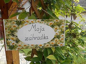 Tabuľky - Moja záhradka - 7014446_