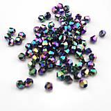 Bicone- Crystal Vitrail Medium /4mm/ 10ks