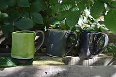 Dekorácie - Vázy zeleno zlaté