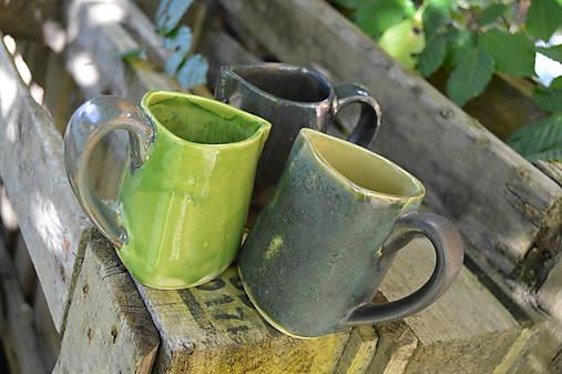 Vázy zeleno zlaté