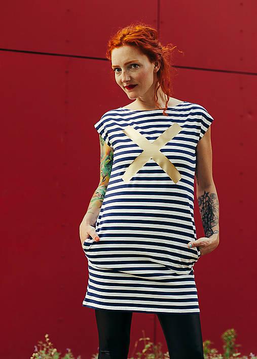 Šaty - FNDLK úpletové šaty 122 RsL - 7016920_