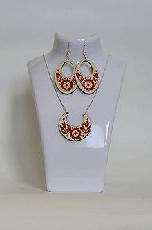 Sady šperkov - Na dreve maľované • sada - 7017023_