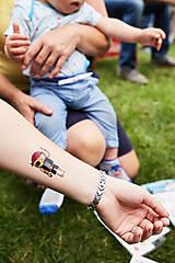 Nezaradené - Dočasné tetovačky - Pirátske od Rakety - 7014280_