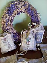 Úžitkový textil - Vrecúška na levanduľu - 7014987_