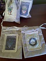 Úžitkový textil - Vrecúška na levanduľu - 7014990_