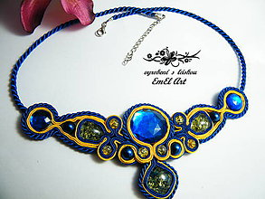 Náhrdelníky - Sujtášový náhrdelník - \