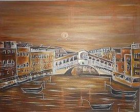 Obrazy - Na potulkách benátskymi vodami - 7014206_