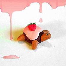 Hračky - Čokoládové želvičky na zákazku (s jahodou NA ZÁKAZKU) - 7014432_