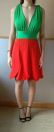 Šaty - tulipánové šaty - 7014641_