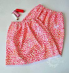 Detské oblečenie - Detská tulipánová suknička so zajkami - 7017832_