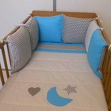 Textil - Vankúšiky sivo-modré - 7018879_