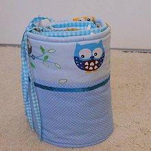 Textil - Objednávka- Modrá sova - 7018902_