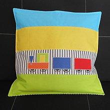 Úžitkový textil - Návliečka Vláčik - 7018953_