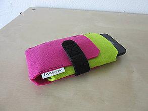 Na mobil - Puzdro na mobil ružové - 7019721_